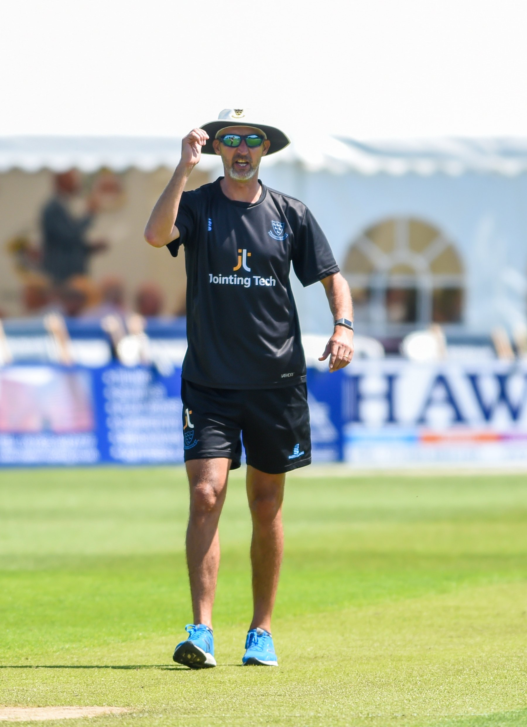 Jason Gillespie says the new addition will add depth to the bowling unit