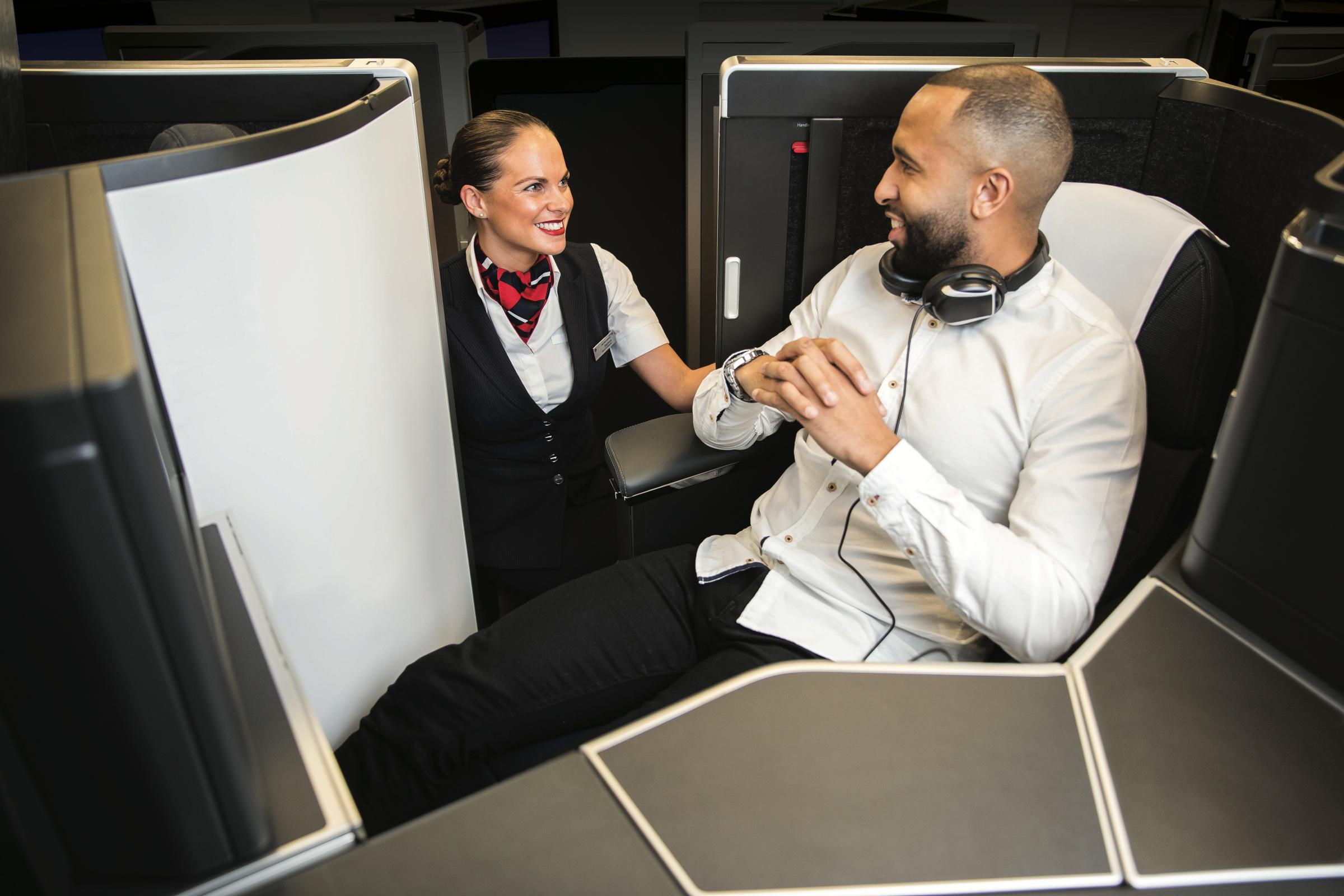 British Airways' new business class offering will be called Club Suite (British Airways/PA)