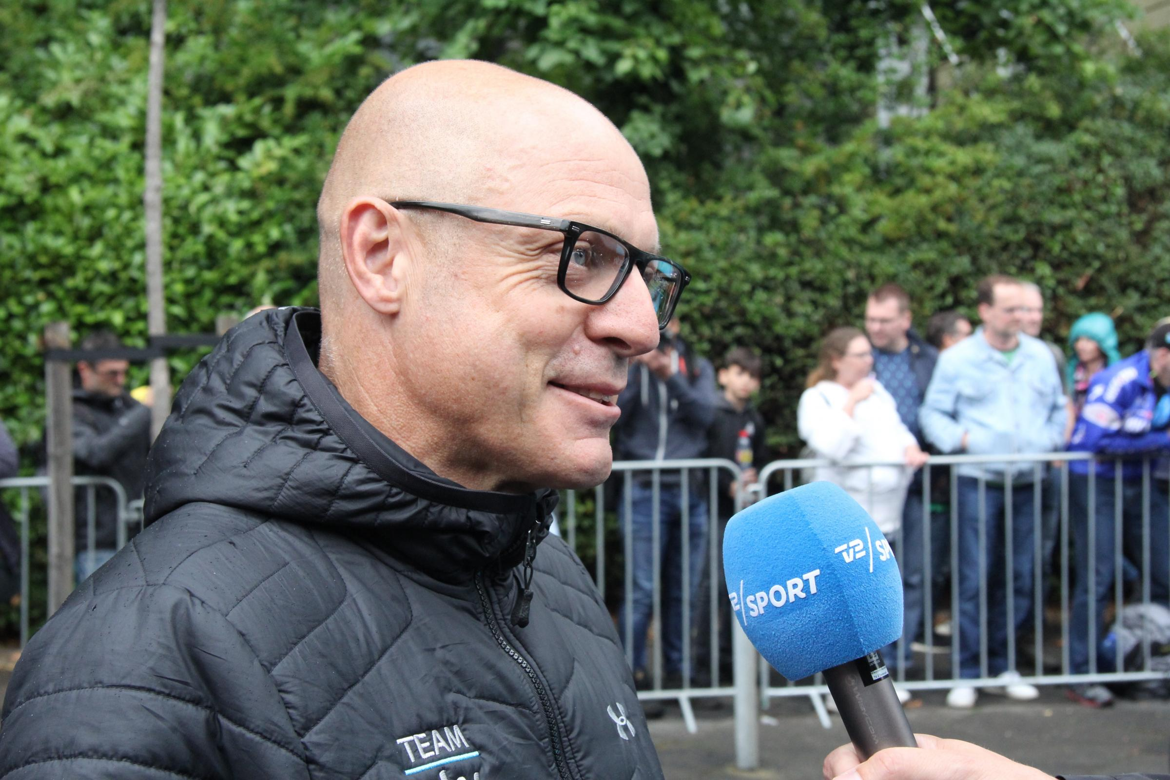 Dave Brailsford is the general manager of Team Sky