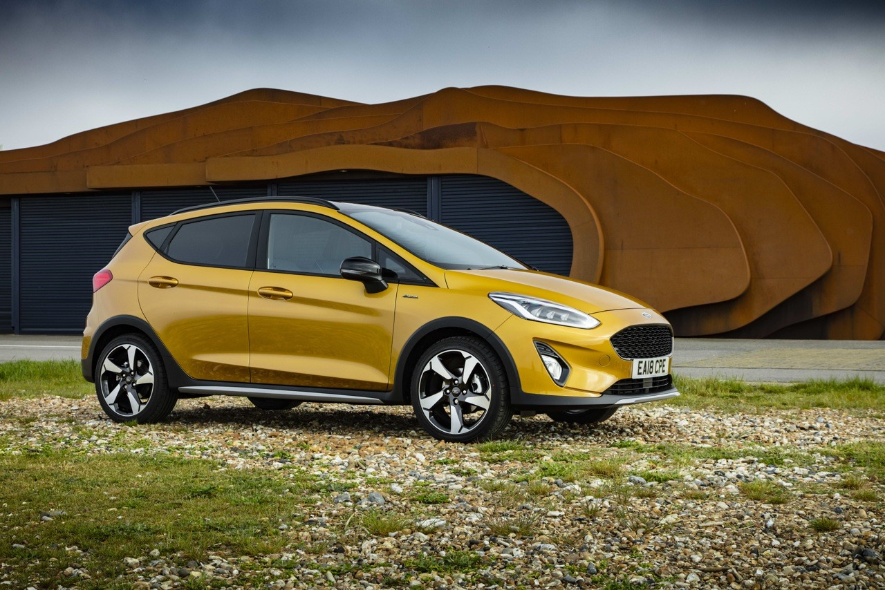 The Fiesta Active X: The small guy with big ideas