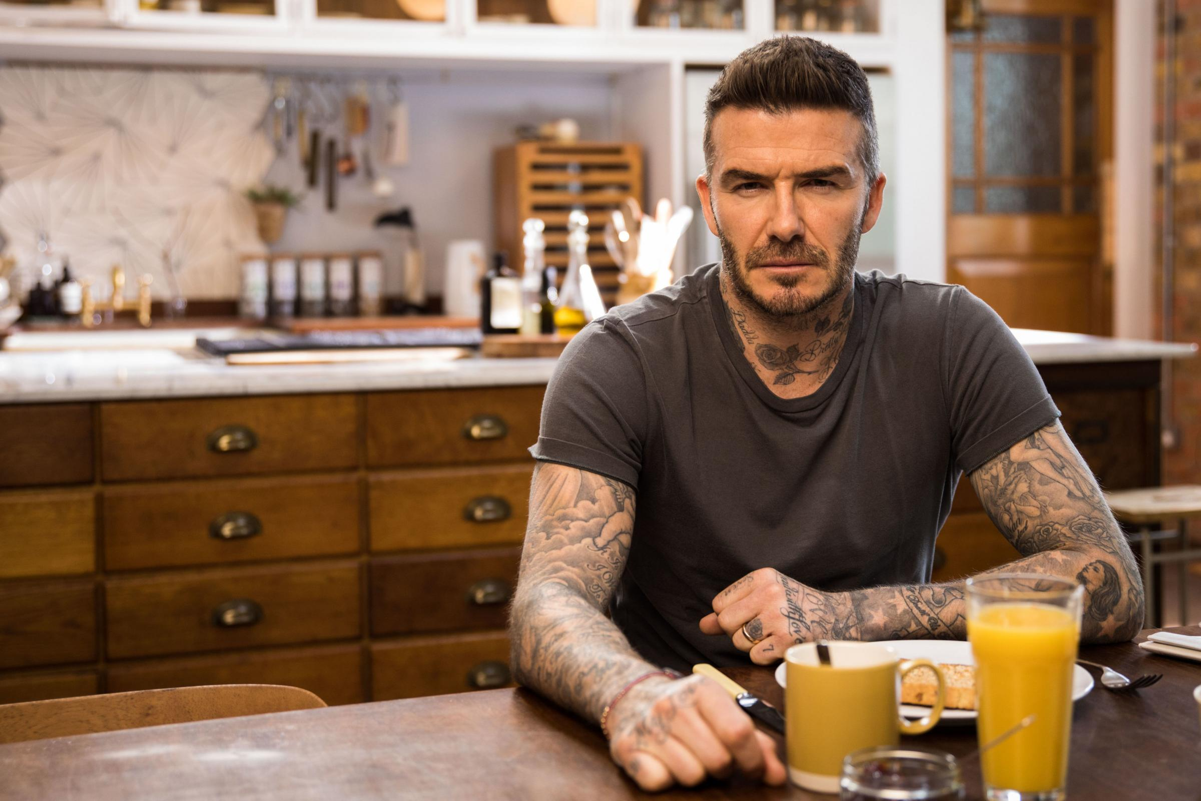 David Beckham, who is fronting the Malaria Must Die, So Millions Can Live campaign.