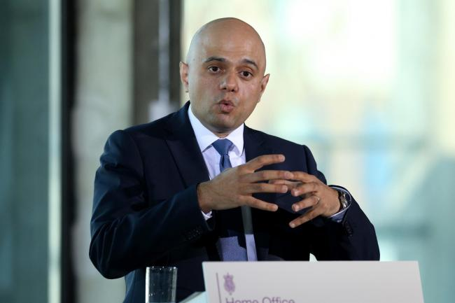 Javid's 'designated areas' announcement could criminalise aid workers