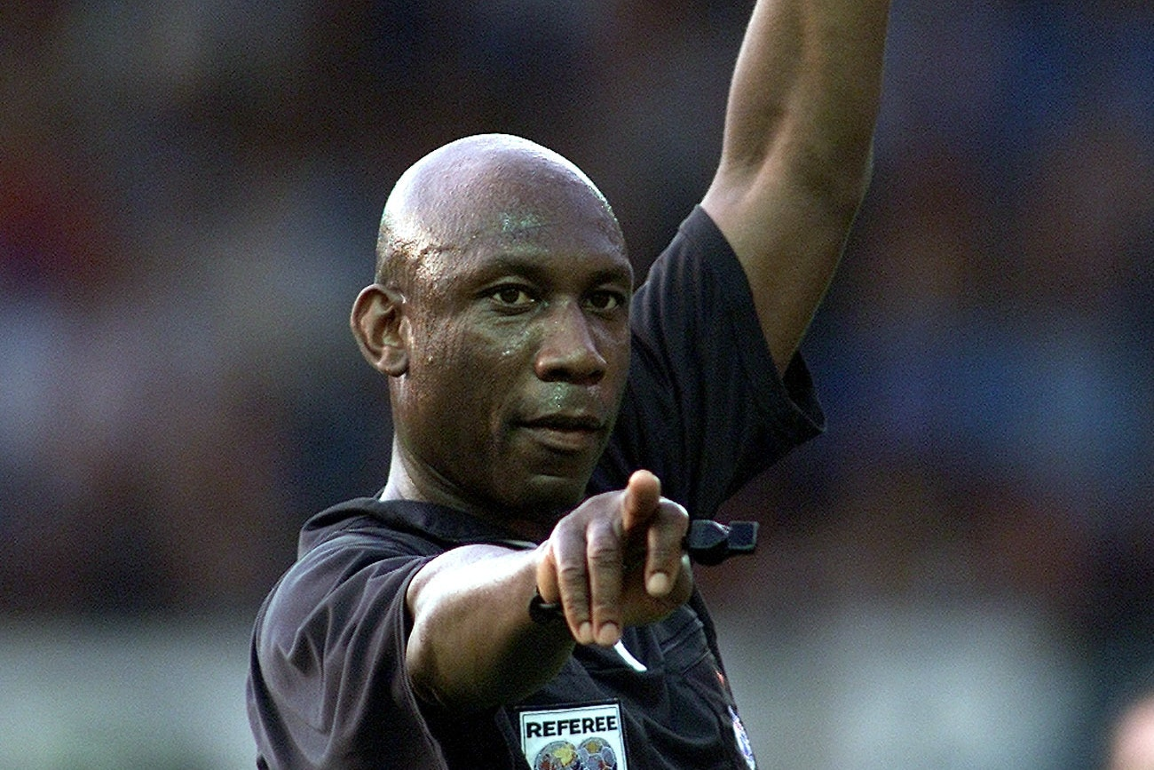 Sheffield's Uriah Rennie was the last black referee to officiate in the Premier League but he retired in 2009