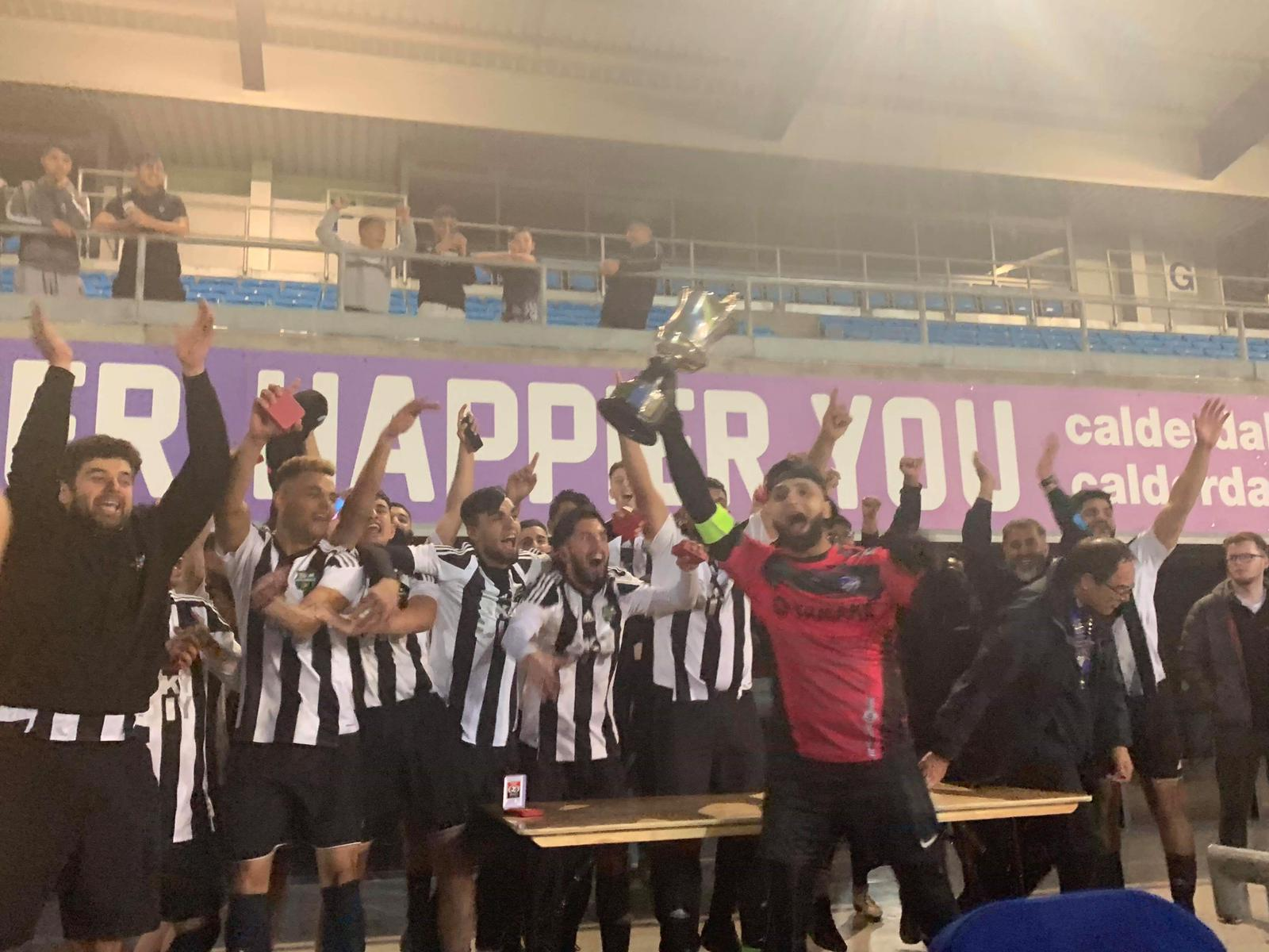 Ten men FC Panda clinch cup after thrilling 7-6 penalty shoot-out