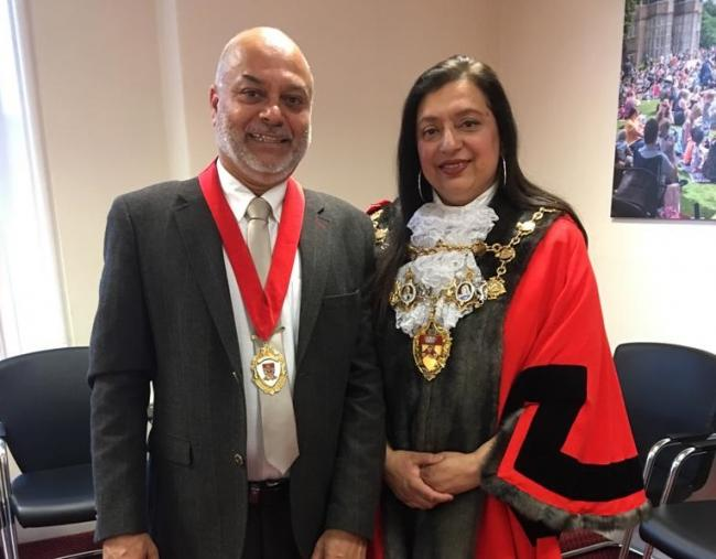 Hasina Khan is Lancashire's first female Asian mayor