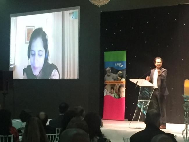 Art Malik in Manchester to support Graham Layton Trust which