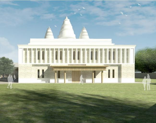 The new Hindu Temple that will be built off Copster Hill Road in Oldham